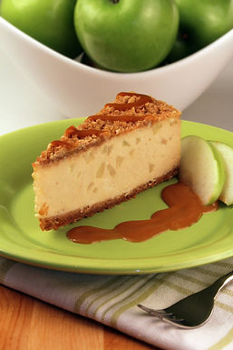 "7"" CARMEL APPLE CHEESECAKE"