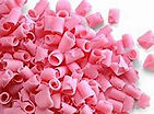 CHOCOLATE SHAVINGS PINK DECORATION