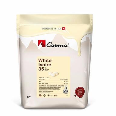 WHITE COUVERTURE IVOIRE 35% 5K