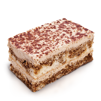 "GF TIRAMISU SHEET CAKE10"" X 9"""