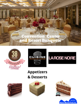 Products perfect for large gatherings and banquets