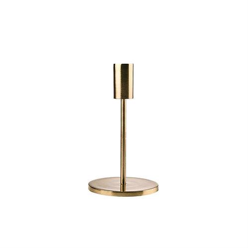 Svícen zlatý 19 cm
