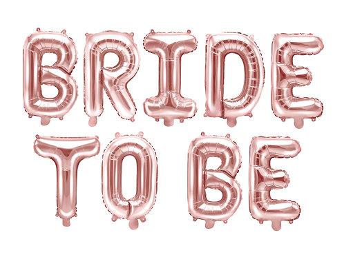 """Nápis """"Bride to be"""""""