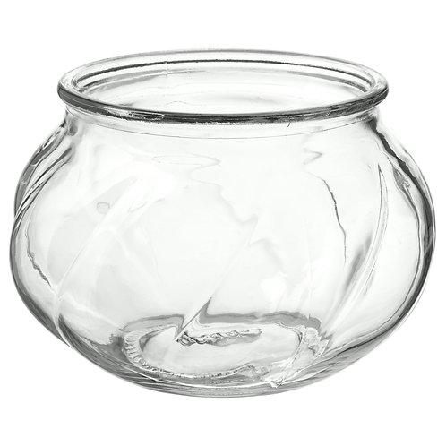 Váza čirá nízká