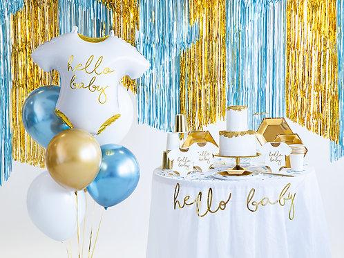 """Set balónků """"Hello baby"""" s héliem"""