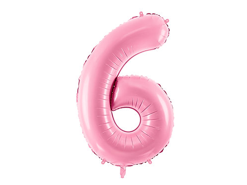 "Foliový balónek ""6"" 86 cm - candy pink"