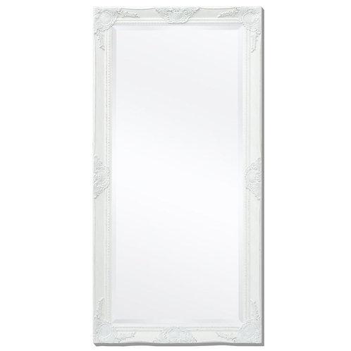 Zrcadlo bílé 60x100 cm