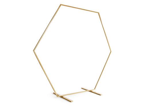 Slavobrána zlatá - Hexagon 2x2 m