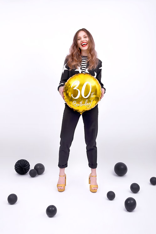 Fóliový balónek - 30. narozeniny