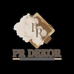 PR dekor - Logo-design - Main logo desig