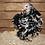 Thumbnail: Black & White Mottled Frizzle Pekin