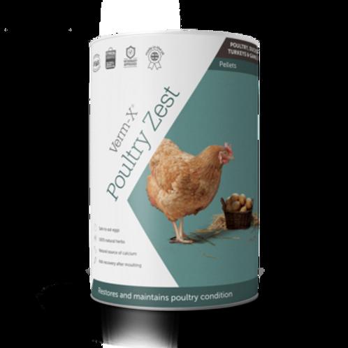 Verm X Poultry Zest 500g