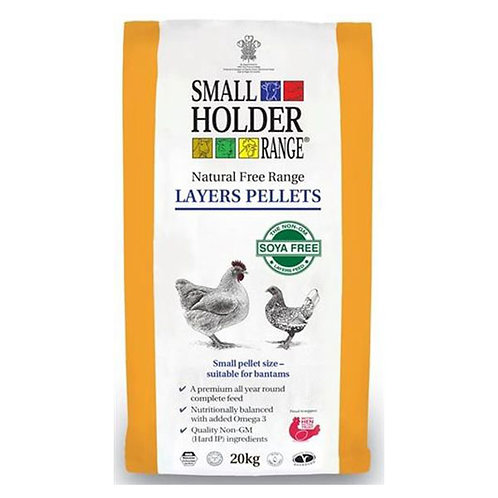 Allen and Page Small Holder Layers Pellets 20kg