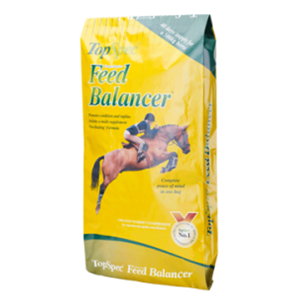 Top spec feed balancer