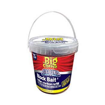 The big cheese ultra power block bait killer 15x20g