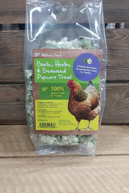 Garlic, Herbs and Seaweed Popcorn Treat 20g