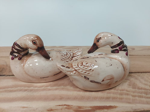 Duck Salt and Pepper Pots