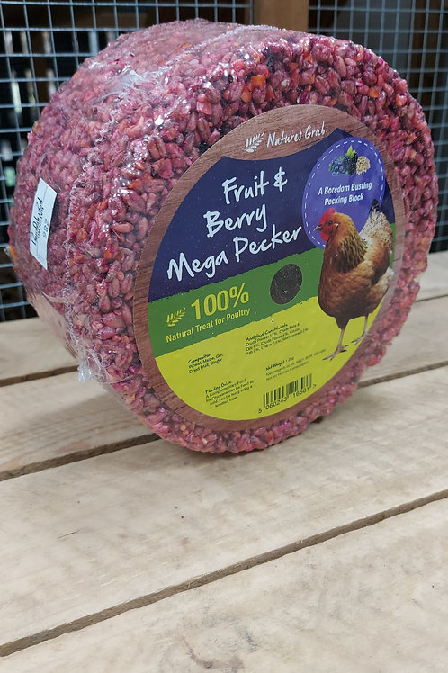 Natures Grub Mega Pecker Fruit & Berry