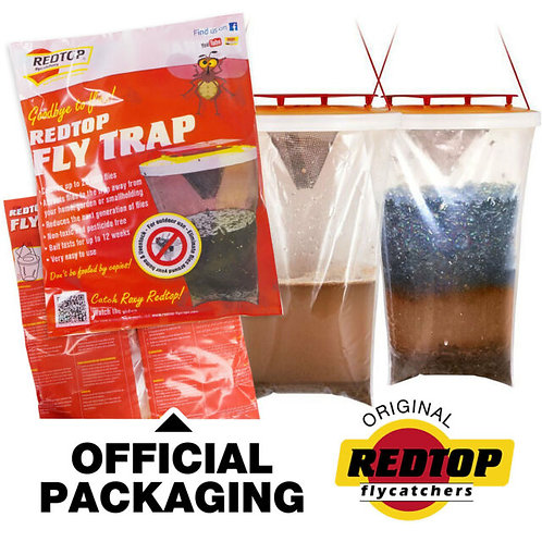 Red top Fly trap - Original