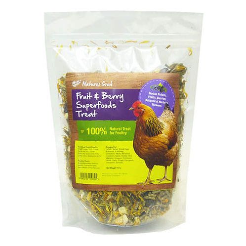 Natures Grub Fruit and Berry Superfoods treat 600g
