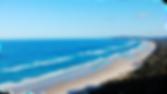 A beach location near Byrob Bay, Australia