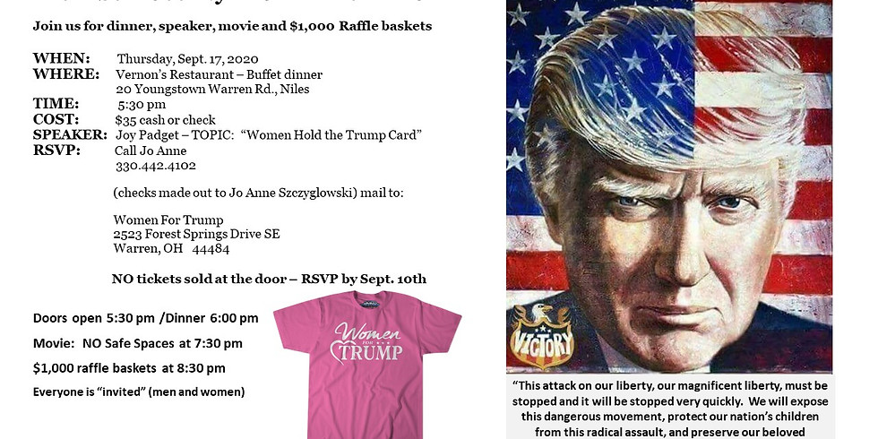 SOLD OUT - TRUMP FUNDRAISER