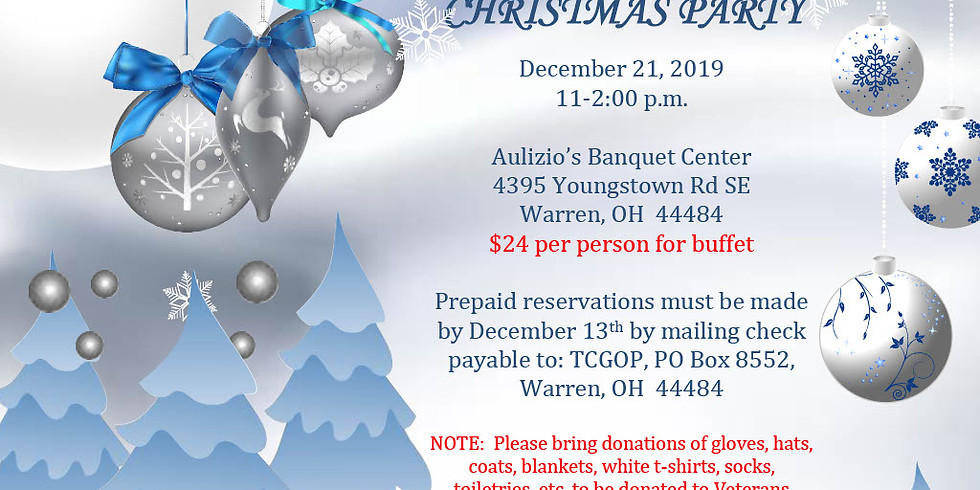 TRUMBULL CO GOP ANNUAL CHRISTMAS PARTY