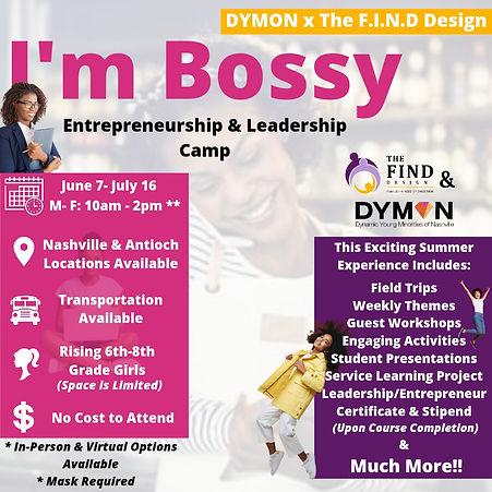 I'm Bossy- Entrepreneurship & Leadership