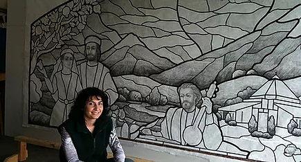 Arpik Weitzer, Master Artist of Arttig Art company