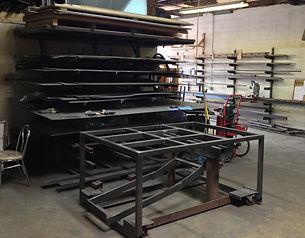 Plasma cut Industrial equipment part design and fabrication