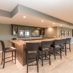 Plote custom home - basement