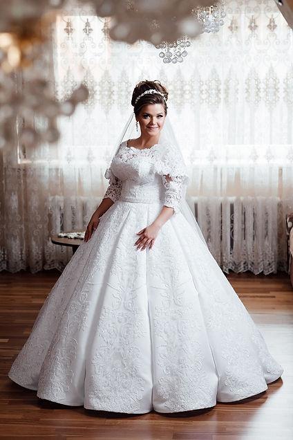 Molett esküvői ruha-Somodi Ágnes Divatsz