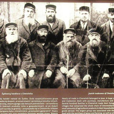Jewish tradesman from Chmielnik