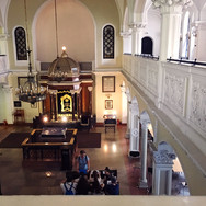 from the womens gallery , Nozyk synagogue