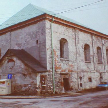 The synagogue before restoration
