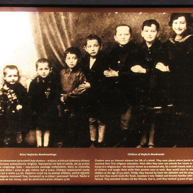 Chmielnik school children