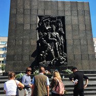 Monument to  Ghetto Heroes