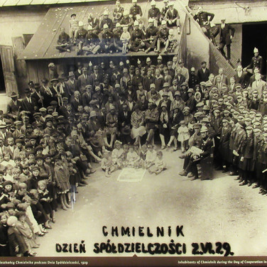 Chmielnik residents on the Day of Cooperation, 1929