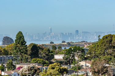El Cerrito - view of SF