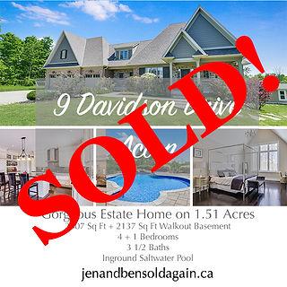 9 Davidson sold post.JPG
