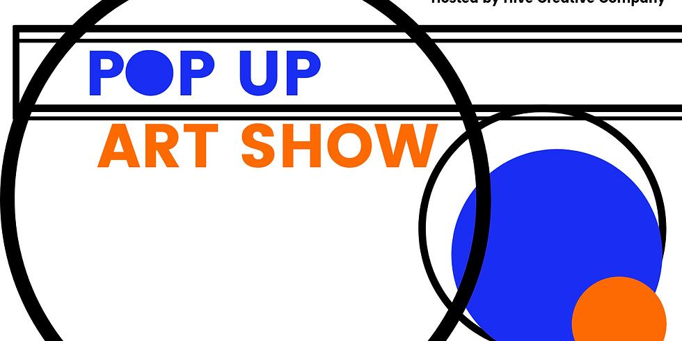 Pop Up Art Show Fundraiser Replay