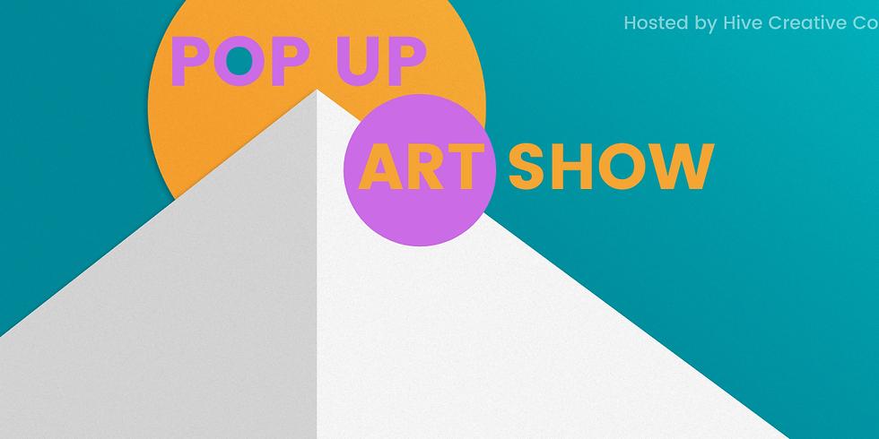 Pop Up Art Show Replay