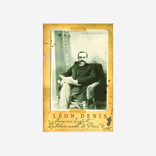 Leon Dennis e o congresso espírita  internacional de Paris 1925