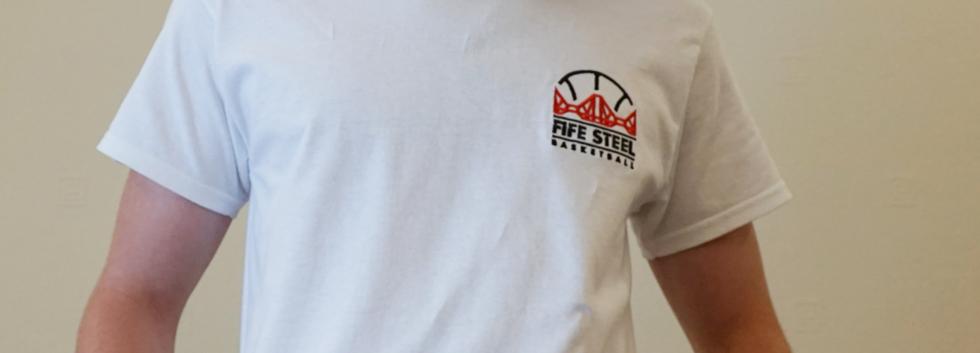 Fife Steel BC White T-Shirt