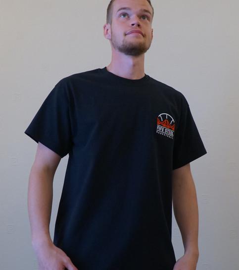 Fife Steel Bc Black T-Shirt