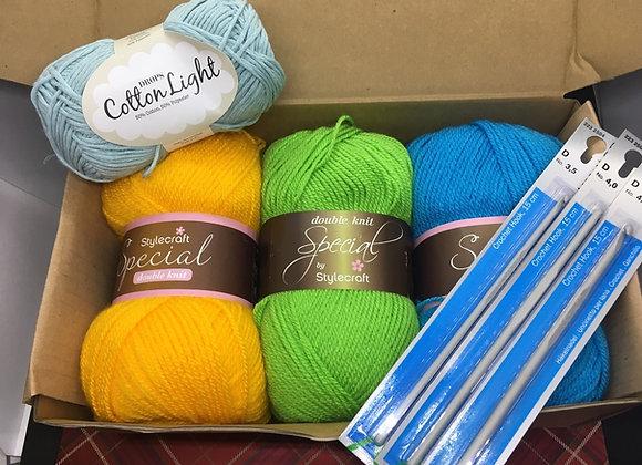 Crochet Starter Kit with Zoom Classes