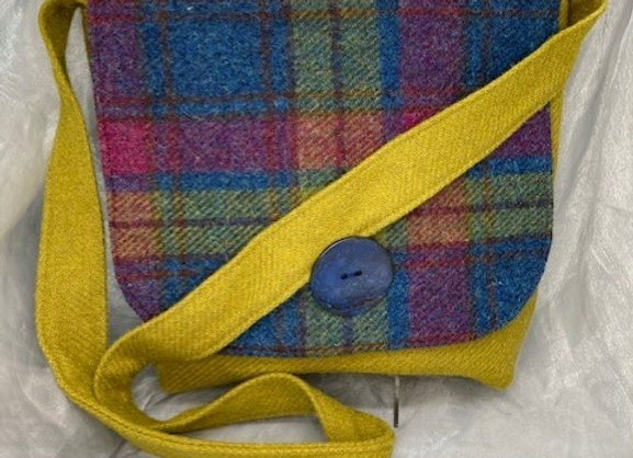 Large Harris Tweed Bag