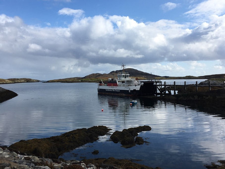 Barra & Vatersay Bus Service is on the road again