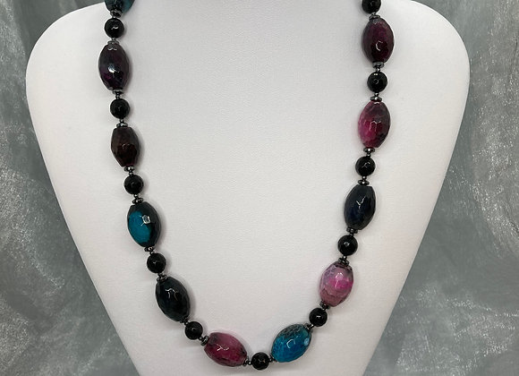 Agate Ovals and Black Onyx