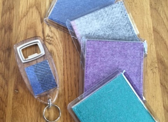 Coasters and Bottle Opener